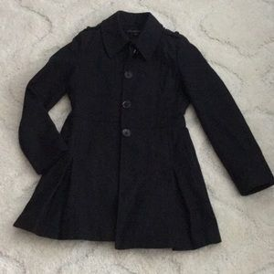 Black Via Spiga dress coat
